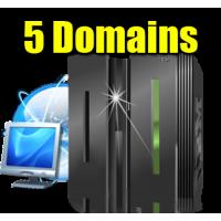 EU1 - 5 Domains Hosting